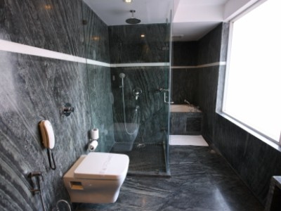 Suite bathroom